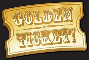 Buckaroo Golden Ticket raffle